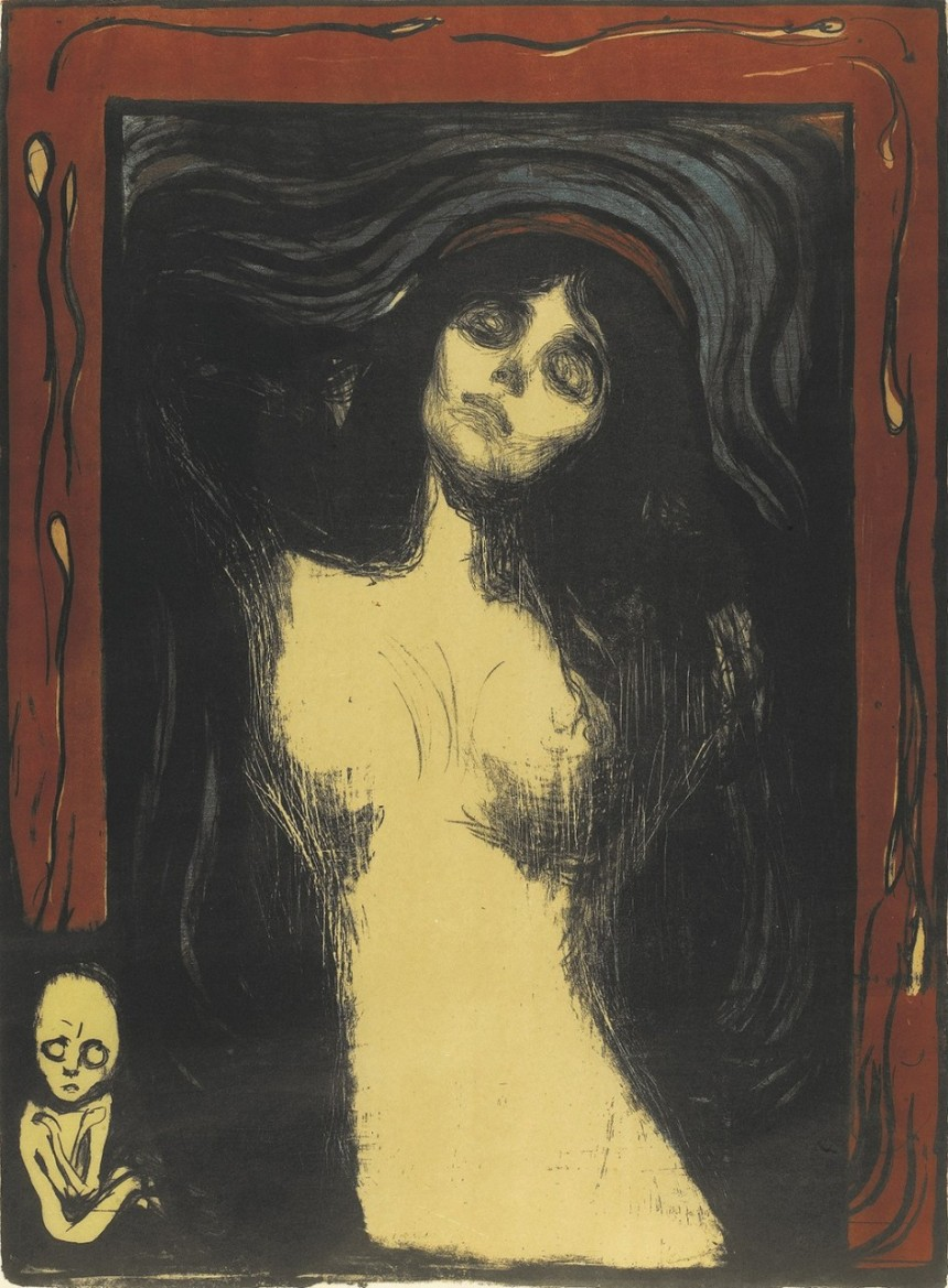 Madonna, Edward Munch