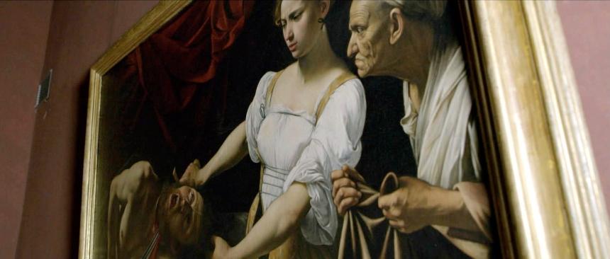 Judith corta la cabeza a Holofernes